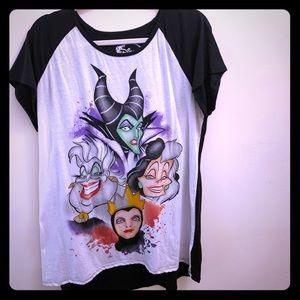 Disney Villains Queens Night Dorm Shirt Gown L XL